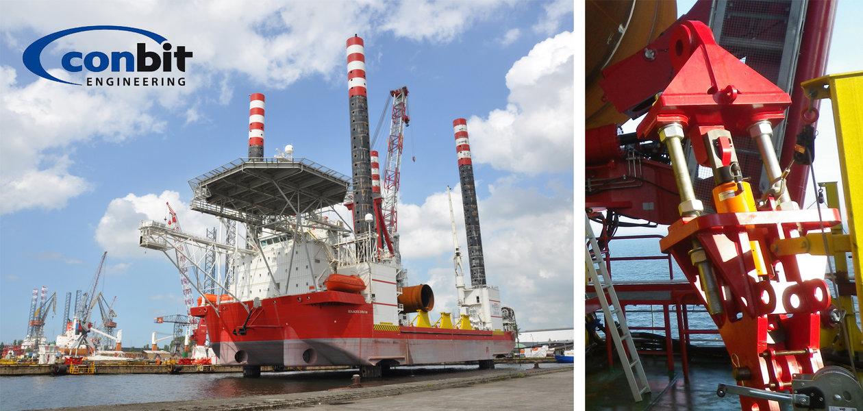 Seafastening System For Marine Transportation Holmatro