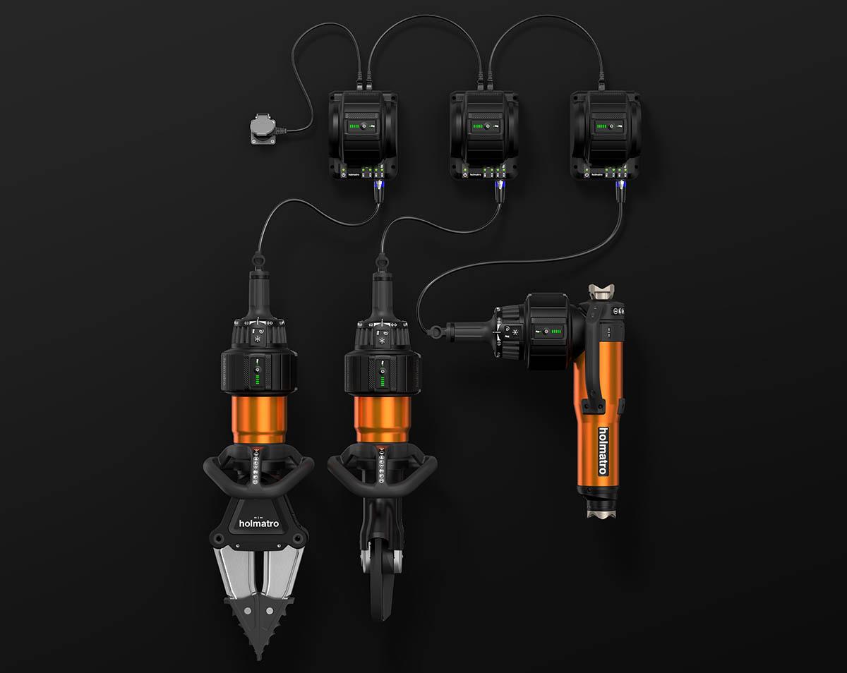 Pentheon On-Tool Charging configuration