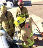 Extrication training: Practice how you play