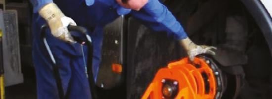 BAS Groep Nijmegen realises 50% savings with Holmatro's brake disc press