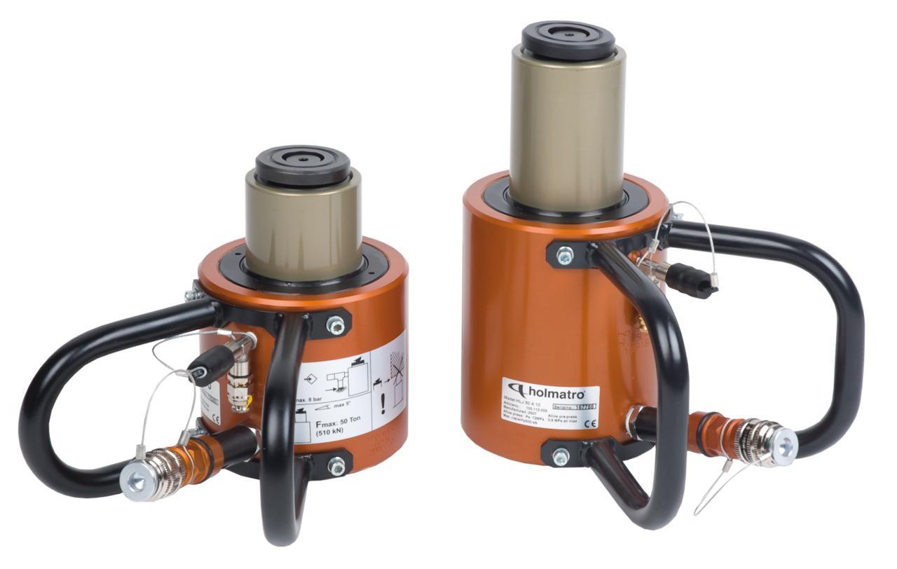 Zylinder, aluminium HLJ 50 A 10