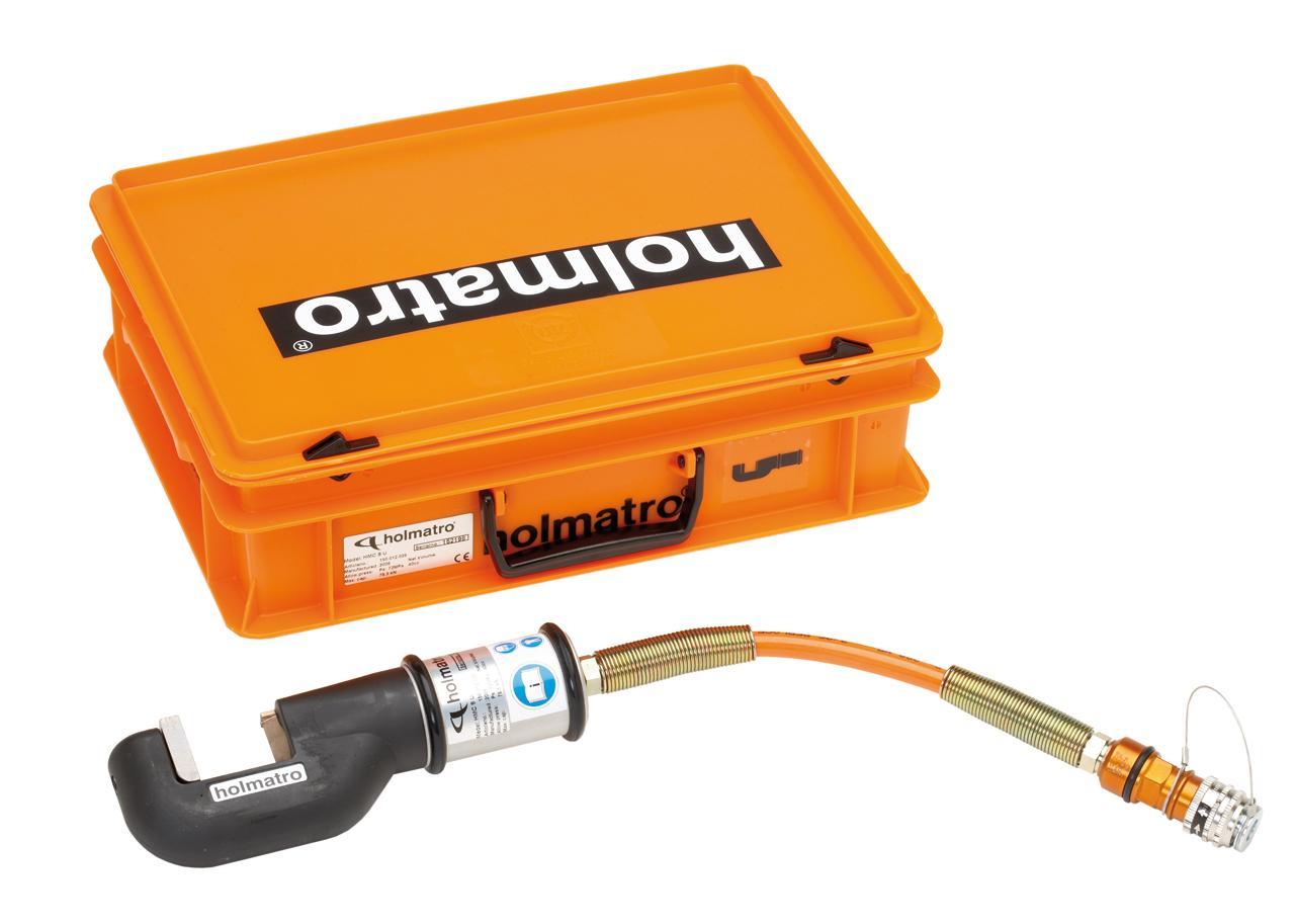 Minischaar HMC 8 U met aansluitslang in kunststof koffer