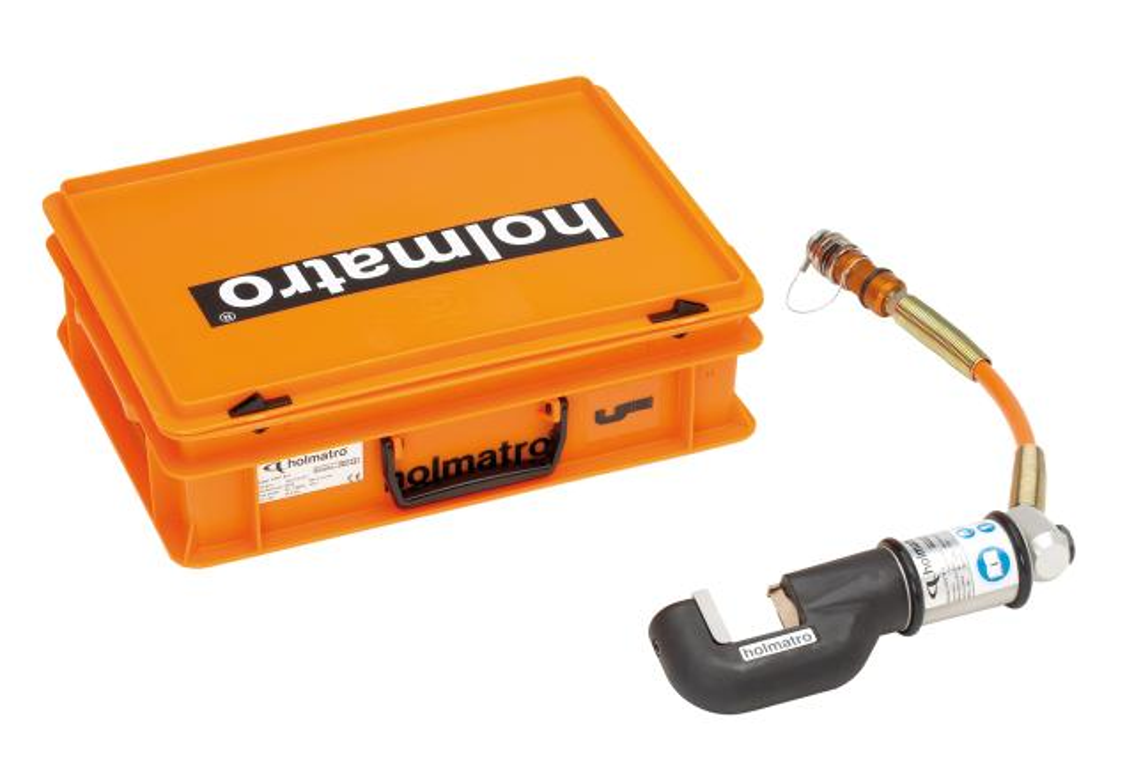 Minischaar HMC 8 U met draaiknie & aansluitslang in kunststof koffer
