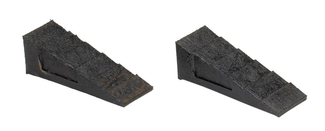 "Chocks & Blocks - Wedge 3""/75mm (Small)."