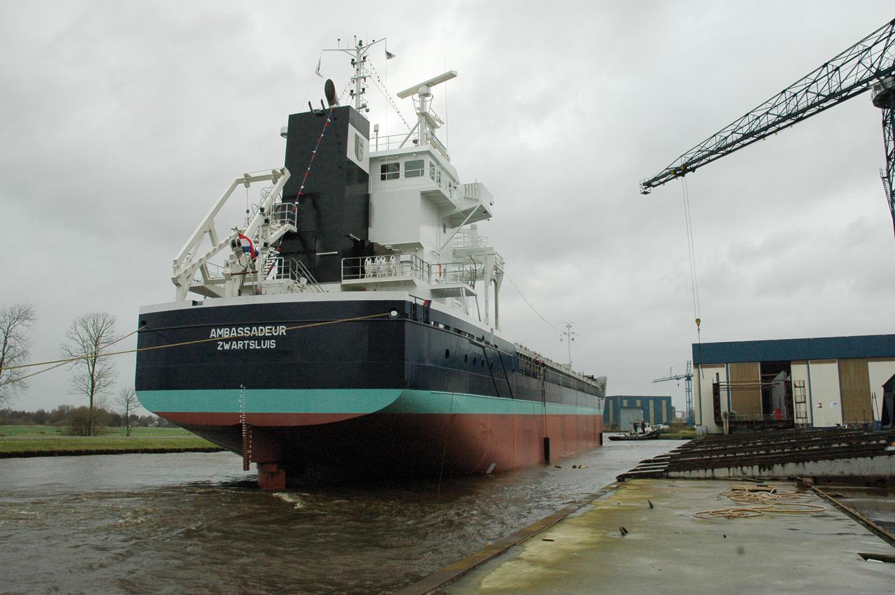Ship Launching - Part 3