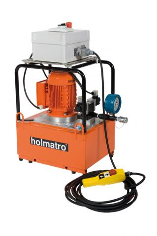 Offshore Wind Hydraulic Solutions, Remote-controlled Pump