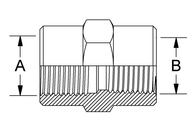 Assembly Materials - 720 bars, Connection Socket