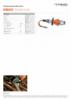 ICU05A10 , Spec Sheet, A4 Metric