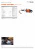 ICU10A30 General Blade, Spec Sheet, A4 Metric