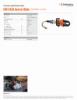 ICU10A30 General Blade, Spec Sheet, Letter US Standard