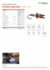 ICU10A40 Straight Blade, Spec Sheet, A4 Metric