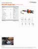 ICU10A40 Straight Blade, Spec Sheet, Letter US Standard