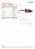 ICU10A60 - Combi Blade, Spec Sheet, A4 Metric