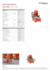 12 S 12 D, Spec Sheet, A4 Metric