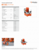 09 T 25 E, Spec Sheet, Letter US Standard