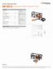 EHW 1650 RC, Spec Sheet, Letter US Standard