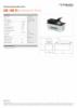AHS 1400 FS, Spec Sheet, A4 Metric
