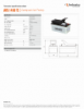 AHS 1400 FS, Spec Sheet, Letter US Standard