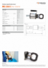 HNC 3250 U, Spec Sheet, A4 Metric