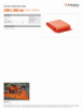 2500 x 2000 mm, Spec Sheet, Letter US Standard