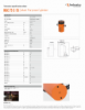 HGC 75 S 15, Spec Sheet, Letter US Standard