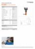 FLS 85 M, Spec Sheet, A4 Metric