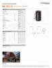 HAC 100 S 15, Spec Sheet, Letter US Standard