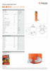HLC 50 H 15, Spec Sheet, A4 Metric