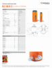 HLC 150 H 15, Spec Sheet, Letter US Standard