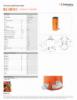 HLC 250 H 5, Spec Sheet, Letter US Standard