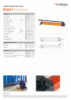 PA 58 H 2, Spec Sheet, A4 Metric