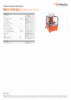 IPU-S 12 W 25 E, Spec Sheet, A4 Metric