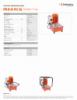 IPU-M 06 W 6 SQ, Spec Sheet, Letter US Standard
