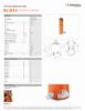 HLC 50 H 5, Spec Sheet, Letter US Standard