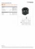 HGC 25, Spec Sheet, A4 Metric