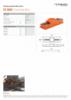 TB 1030, Spec Sheet, A4 Metric