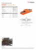 TB 3545, Spec Sheet, A4 Metric