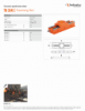 TB 3545, Spec Sheet, Letter US Standard