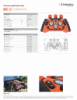 HDC 12, Spec Sheet, Letter US Standard