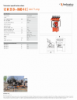 12 W 25 D + HMD 4 C, Spec Sheet, Letter US Standard