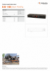 B 30 - 1100, Spec Sheet, A4 Metric