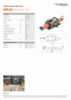 SPPU-LW, Spec Sheet, A4 Metric