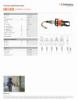 ICU10A70, Spec Sheet, Letter US Standard