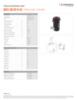 HATC 80/28 H 45, Spec Sheet, Letter US Standard