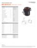 HATC 80/28 H 20, Spec Sheet, Letter US Standard